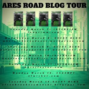 Ares Road blog tour