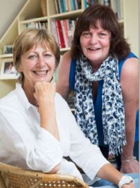 Susan Pape (left) and Sue Featherstone
